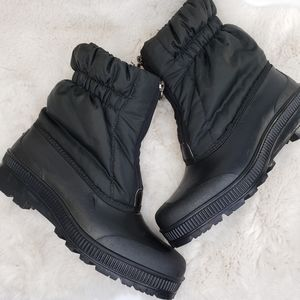 Sorel Shoes Slimpack Riding Tall Leather Boots Blk 9